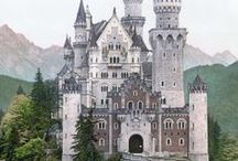 Neuschwanstein Castle ~ Bavaria, Germany ☛ / Neuschwanstein Castle