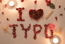 Sweet proposing arts / Cool typography using creative materials