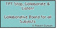 TPT Stop, Collaborate & Listen! / Hi friends! This board is for all things TPT! You can post up to 5 paid things a day! Please try and also include freebies, articles, and other interesting things that will help teachers! If you would like to be added to this board please message me here on Pinterest or at bduncan1127@gmail.com. Thank you! Happy Pinning! :)