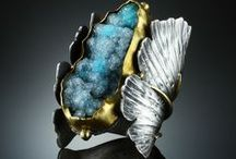 Gemstone jewelry / Gorgeous harmony between gemstones and metal, such as gold and silver.