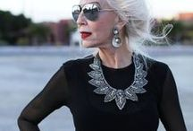 Ageless Street Style / Advance street style, women who are aging gracefully for even naughtily!