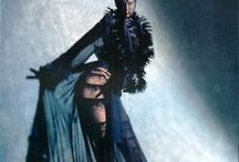 Thierry Mugler / Dramatic fashion style of Thierry Mugler from the catwalks.