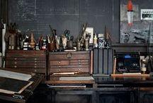 Artist's Studios / Inspiring views of Artist's Studio