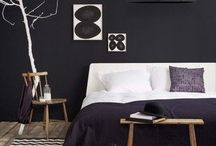 Simple, Dramatic Home Decor / Ideas for how to simplify and add drama to your home decor at the same time.