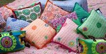 RYY | Home / Ruby Yaya | Home line Colorful home line. Table cloths, cushions and much more.