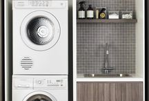 laundry. / Well thought out and designed laundry rooms
