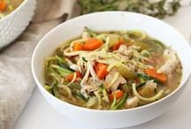 Spiralized Soups, Chilis & Stews / Spiralized recipes for soups, chilis & stews.