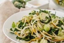 Spiralized Salads / Spiralized recipes for salads.