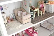 dollhouse and furniture / collection of ideas to make my own dream dollhouse