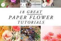 Crafts - paper flower