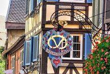 Les Enseignes de Colmar / Le fer forgé à l'honneur dans les rues de Colmar