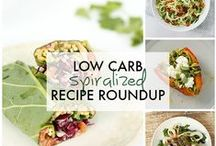 Inspiralized Recipe Roundups / Roundups of some of my favorite related dishes.