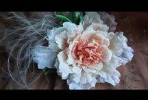 Kartki, kwiaty - video