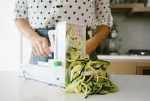 The Inspiralizer / The Inspiralizer® is the official spiralizer of Inspiralized. You will never want to use another spiralizer again. If you want to start your healthy lifestyle off on the right foot and create amazing spiralized dishes, the Inspiralizer was designed to be the best!