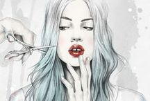 Illustration / A collection of gorgeous artworks from illustrators.