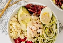 Spiralized Bowls Recipes / For those who prefer their meals in bowls.