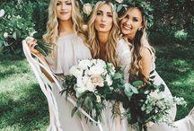 Bridemaids / demoiselles d'honneur