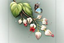 Kolorowanki - kwiaty i inne
