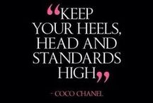 COCO KNOWS BEST / FAMOUS QUOTES BY THE LEGENDARY COCO CHANEL.