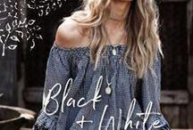 RYY   Black & White / Gypsy Style in Black and White
