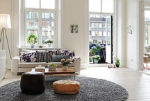 Apartment Inspiration  / Finally my own place!!! Now, what to do with it....hmmmm........ / by Stephanie Thompson