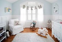 Nursery Decorating / Nursery furniture, decorations, colors, and layouts