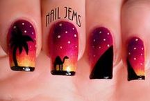 Nail Jems Designs / Nail Artist & Mani-ac, see my fb page for budget nail supplies and free giveaways here:  https://www.facebook.com/NailJemsGC  Check out my blog for the products I use and my tutorials here: http://nailjems.blogspot.com.au/
