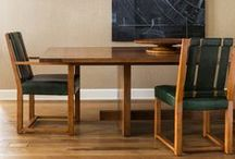 Dining & Focal Tables by Rose Tarlow Melrose House / Dining and focal tables by Rose Tarlow Melrose House