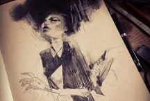 Sketchbook/Sketch/Moleskine / by Zeynep Seymen