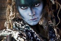 Medusa / Niki Lazaridou - Freelance Photographer Model: Anna Aleksandra Jonynas MUA: Makeup by Anastasia Vladi Hair Styling: Hair by Christine Cassola Snakes Distributor: New England Reptile