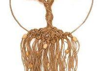 makramy / biżuteria węzły sznurka