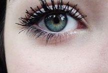Eyes / Blue eyes and makeup