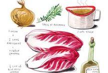 Food Illustrations / FOOD ILLUSTRATIONS