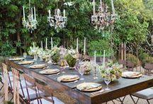 Outdoor Dining / #OutdoorDining #Patio #PatioDining #summerdining #alfresco #dining #diningroom
