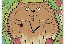 DIY Cartoon Clock@SuperSmartChoices / DIY Cartoon Clock Players can draw and paint by themselves