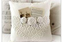 DIY Pillows and bean bags