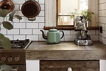 Kitchen of my dreams / Rustic Kitchen Decor Ideas