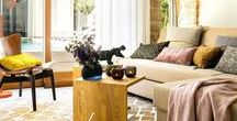 Spain / Stylish and cozy interiors from Spain.