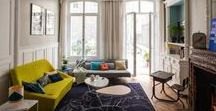 Paris and France / Interiors from Paris - the most romantic city in the world. Other french interiors