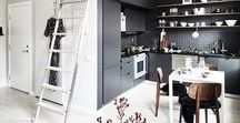 Small Spaces / Interiors with limited space. Small flats and houses. Ideas on decorating small interiors.
