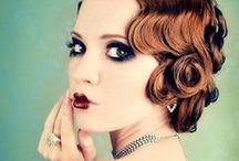 1920's Hair and Makeup