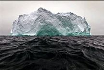 Ice and icebergs / The vast scale of the ice cap puts the world in its proper perspective – whether you see it from a dog sled, the sea, on a pair of skis or in a pair of walking boots.