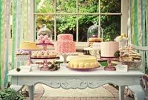 Słodkie Stoły / To tablica o pomysłach na słodkie stoły i artystycznych wypiekach ślubnych.