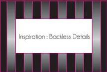 Inspiration:  backless details