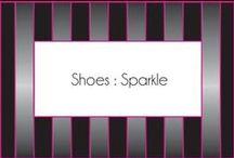 Shoes:  sparkle