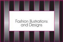 Fashion Illustrations and Designs