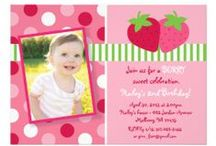 Strawberry Party / Designs for a strawberry themed party. Perfect for summer!