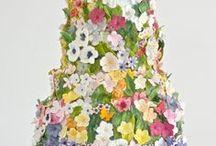 wedding cakes / by steph b