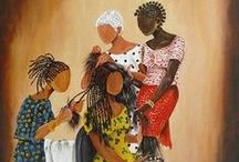 I Am because We Are / A collection of art that captures the spirit of friendship and kinship.