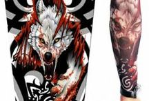 Accessories- TATTOO SLEEVES / Vampire Arm Sleeve Temporary Tattoo, Wolf Tattoo Sleeve, Buddha Tattoo Sleeve, Jesus Tattoo Sleeve, Skeleton Tattoo Sleeve and many more sexy, stylish and funky range of tattoo sleeves for Indian men, on India 's leading online store StringsAndMe. Buy Now.